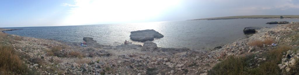 Тарханкут - панорама