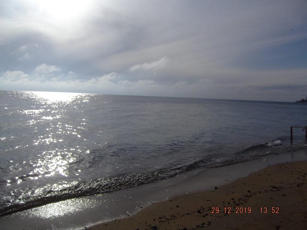 фото Евпатория море 29.12.2019г.